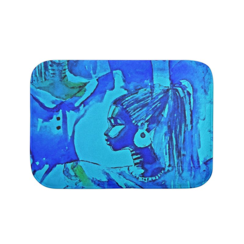 African Sisters Home Bath Mat by Symbols of Communicatios