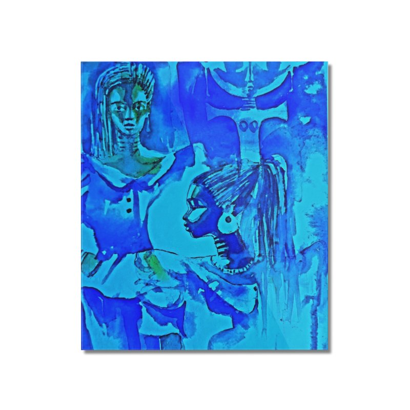 African Sisters Home Mounted Acrylic Print by Symbols of Communicatios
