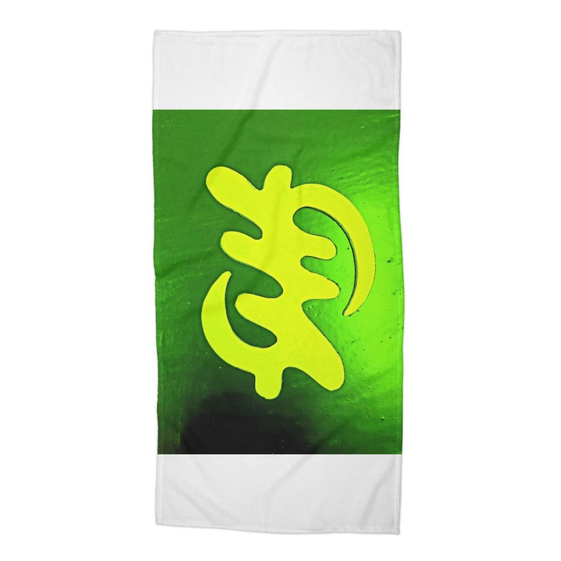 I see the lightq Accessories Beach Towel by Symbols of Communicatios