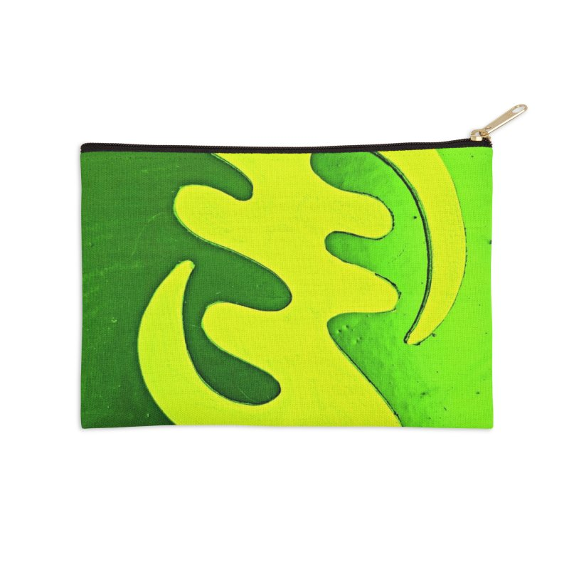 I see the lightq Accessories Zip Pouch by Symbols of Communicatios