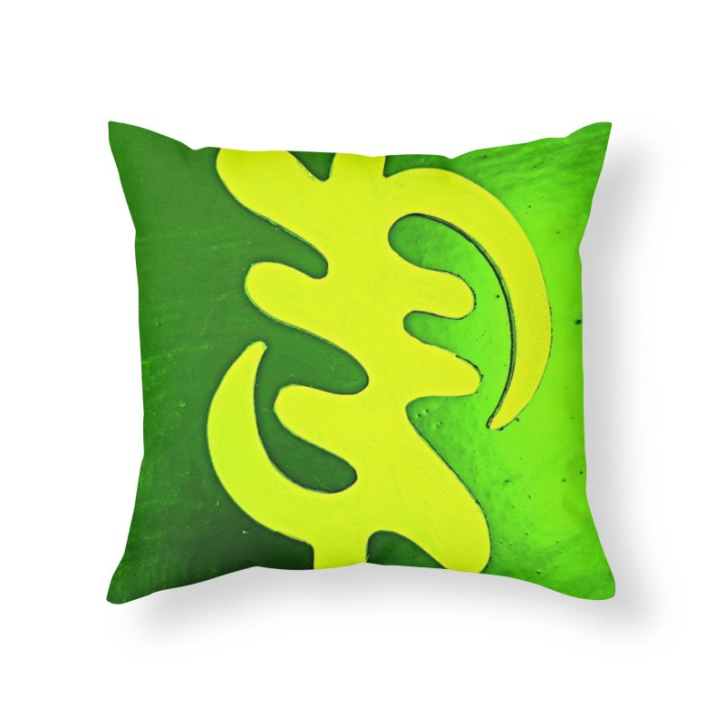 I see the lightq Home Throw Pillow by Symbols of Communicatios