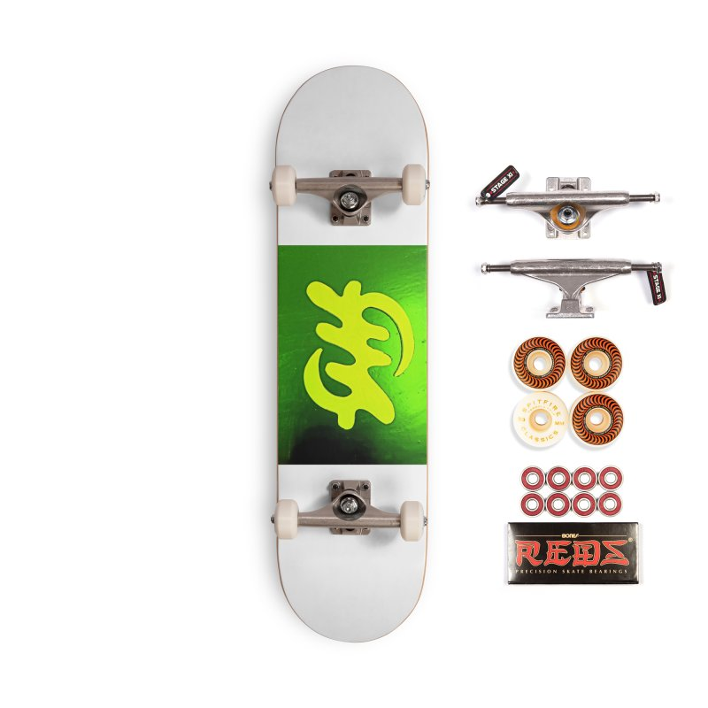 I see the lightq Accessories Skateboard by Symbols of Communicatios