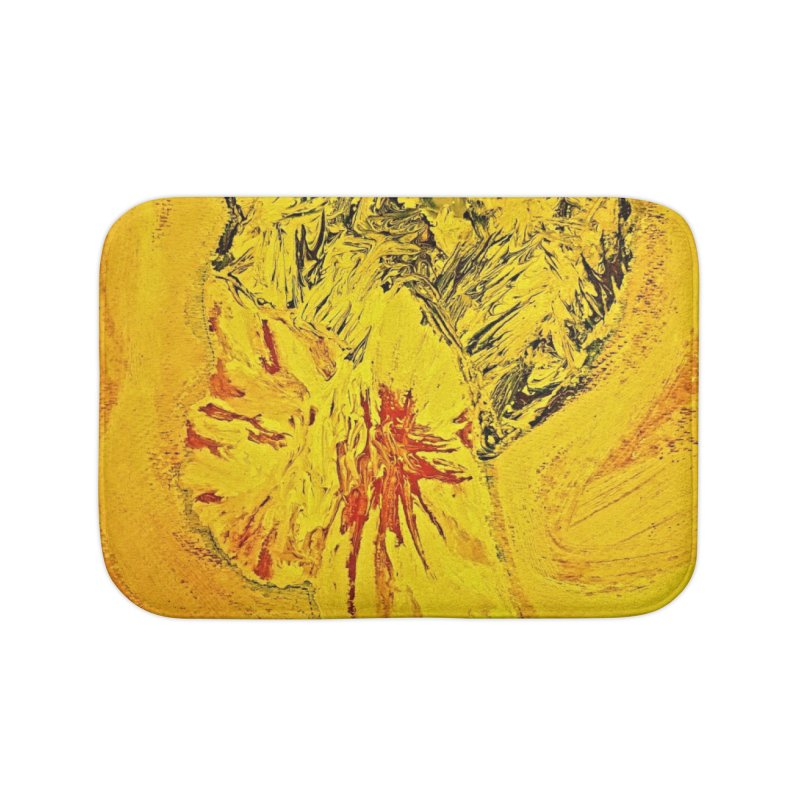 Hello Home Bath Mat by Symbols of Communicatios