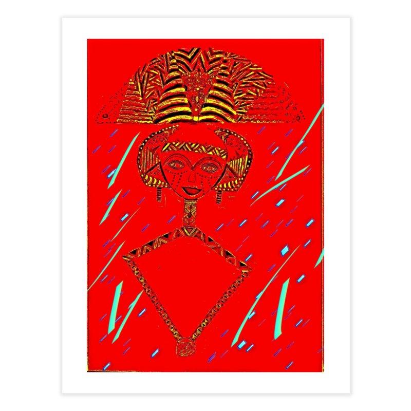 Bskota doll Home Fine Art Print by Symbols of Communicatios