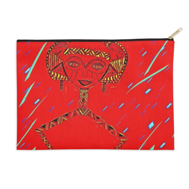 Bskota doll Accessories Zip Pouch by Symbols of Communicatios