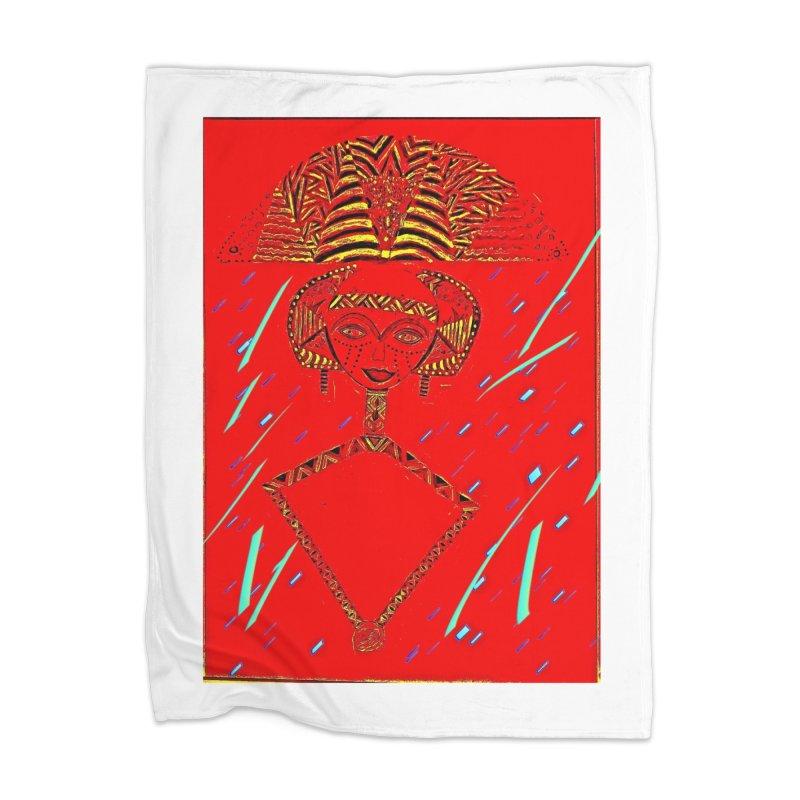 Bskota doll Home Blanket by Symbols of Communicatios