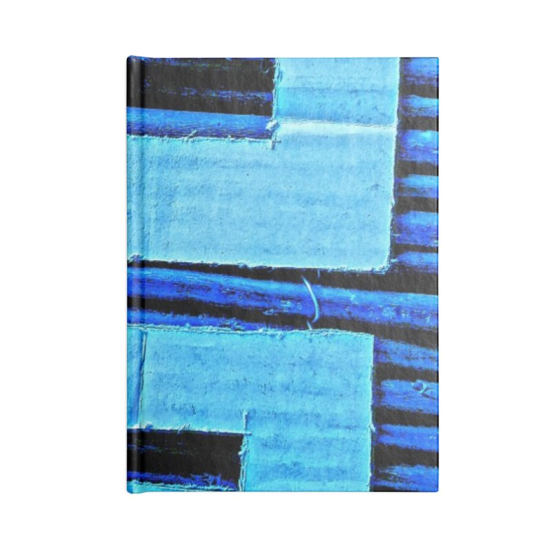 Blue Blue Accessories Notebook by Symbols of Communicatios