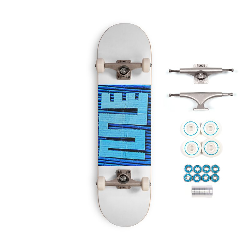 Blue Blue Accessories Skateboard by Symbols of Communicatios