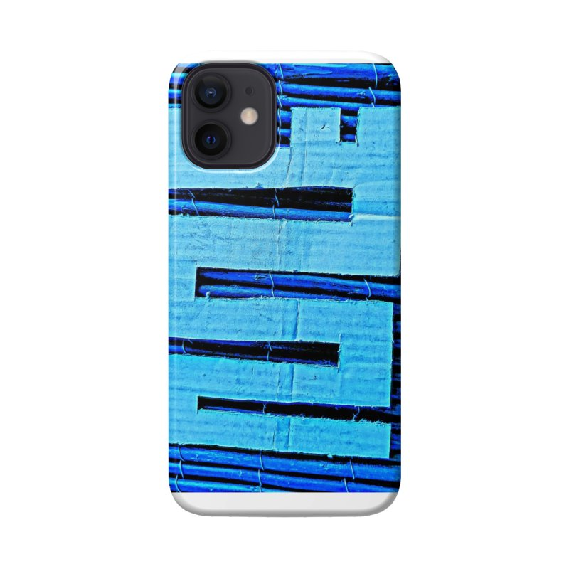 Blue Blue Accessories Phone Case by Symbols of Communicatios