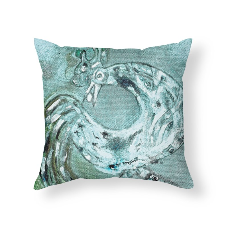 Long Distance Friends Come Home Home Throw Pillow by Symbols of Communicatios