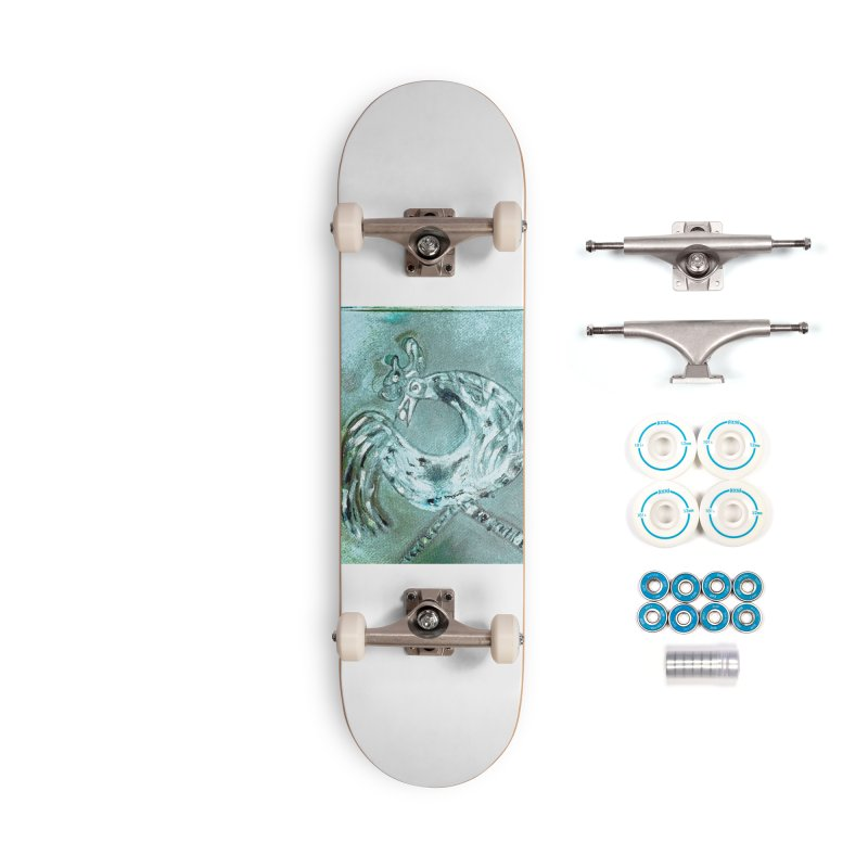 Long Distance Friends Come Home Accessories Skateboard by Symbols of Communicatios