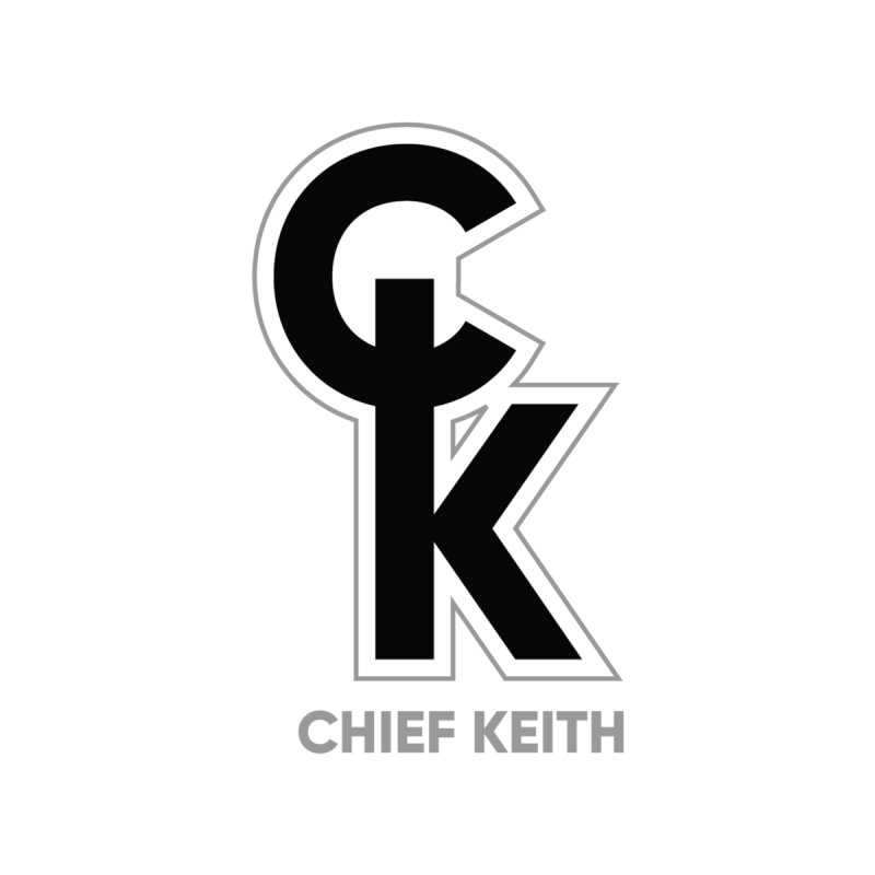 Chief Keith logo 3 Men's T-Shirt by Chief Keith Music's Artist Shop