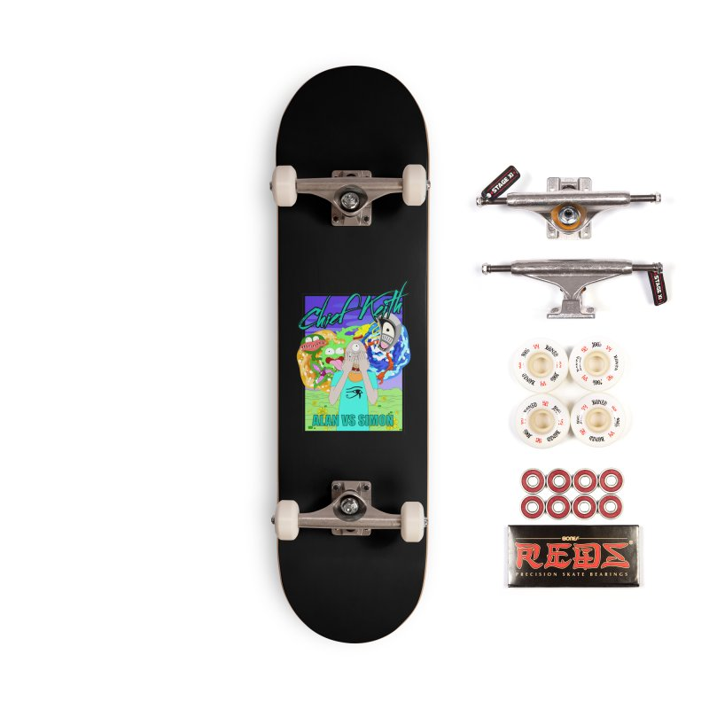 alan vs. simon Accessories Complete - Pro Skateboard by Chief Keith Music's Artist Shop
