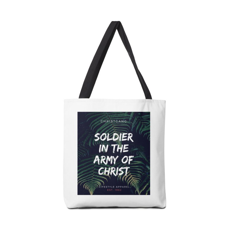 Soldier In The Army Of Christ Accessories Bag by ChristGang Apparel