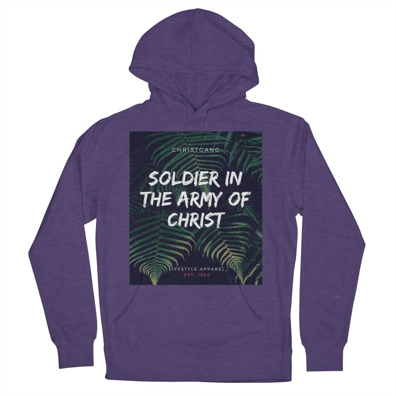 Soldier In The Army Of Christ Men's Pullover Hoody by ChristGang Apparel