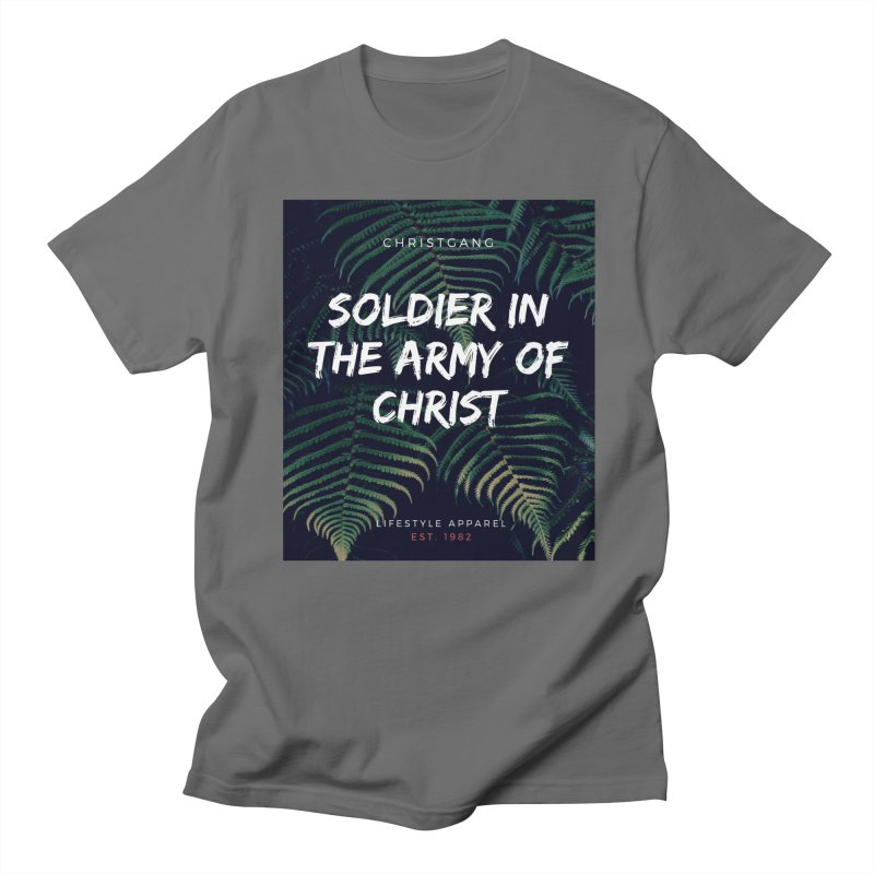 Soldier In The Army Of Christ Women's T-Shirt by ChristGang Apparel