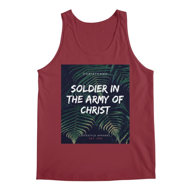 Soldier In The Army Of Christ Men's Tank by ChristGang Apparel