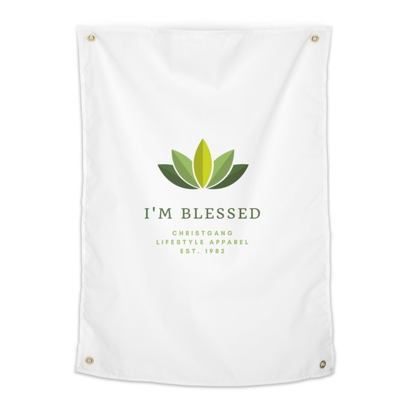 Blessed Home Tapestry by ChristGang Apparel