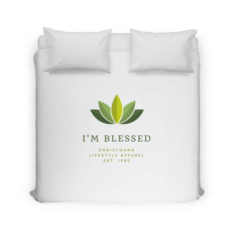Blessed Home Duvet by ChristGang Apparel