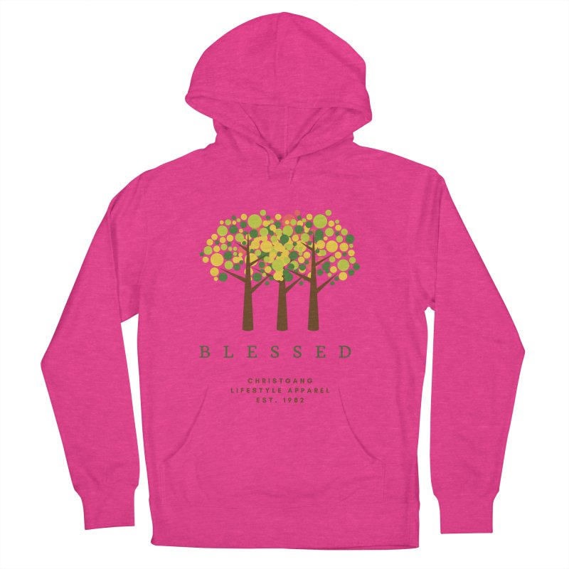 Blessed Men's Pullover Hoody by ChristGang Apparel