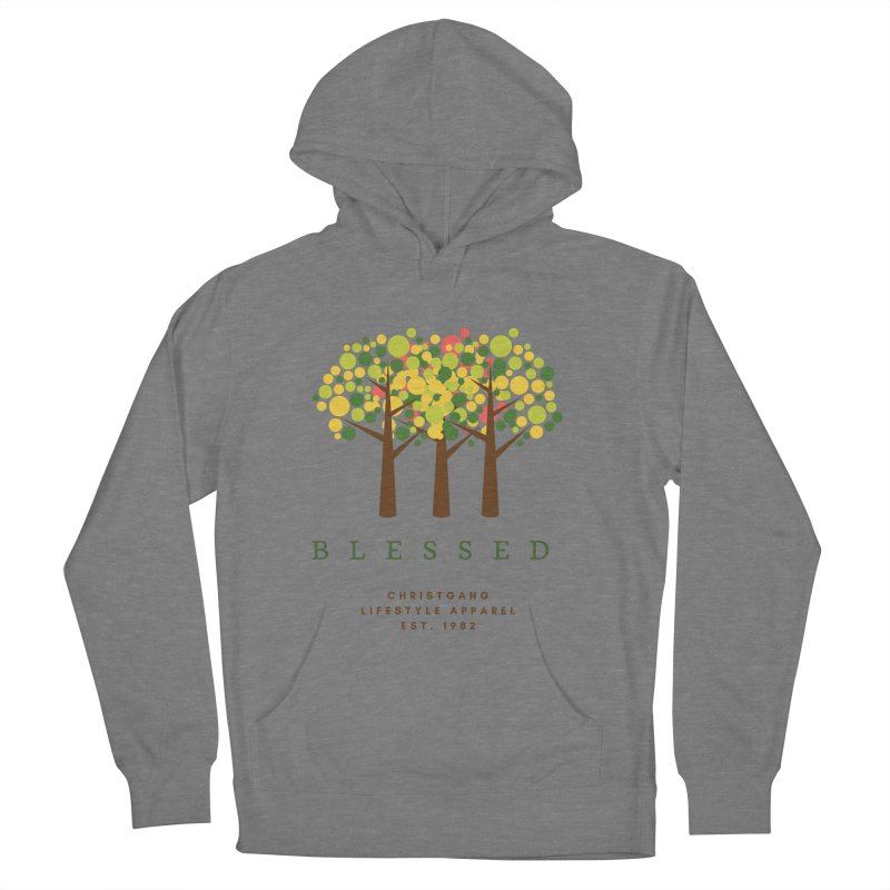 Blessed Women's Pullover Hoody by ChristGang Apparel