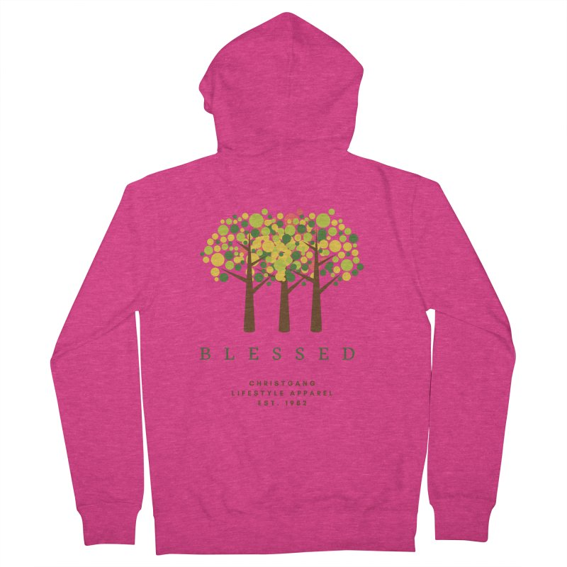 Blessed Women's Zip-Up Hoody by ChristGang Apparel