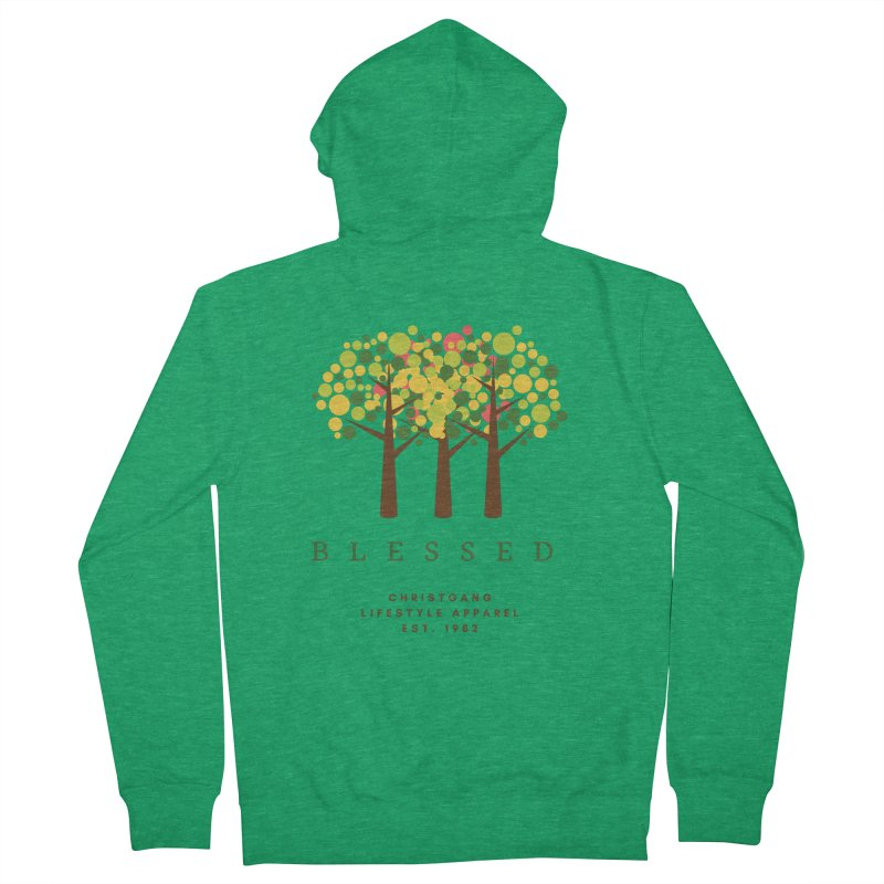 Blessed Men's Zip-Up Hoody by ChristGang Apparel