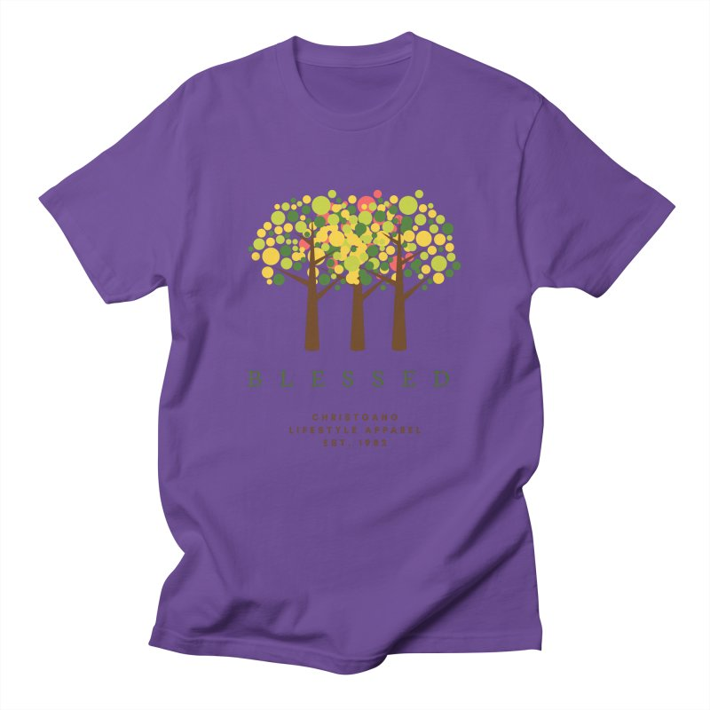 Blessed Men's T-Shirt by ChristGang Apparel