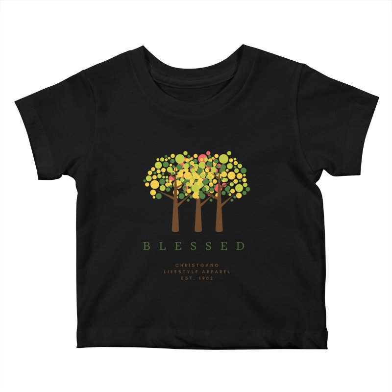 Blessed Kids Baby T-Shirt by ChristGang Apparel