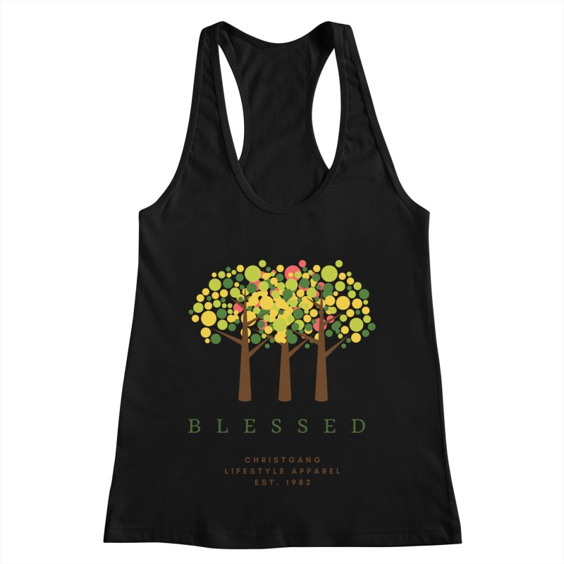Blessed Women's Tank by ChristGang Apparel