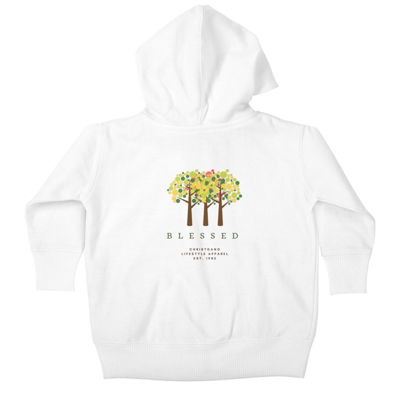 Blessed Kids Baby Zip-Up Hoody by ChristGang Apparel