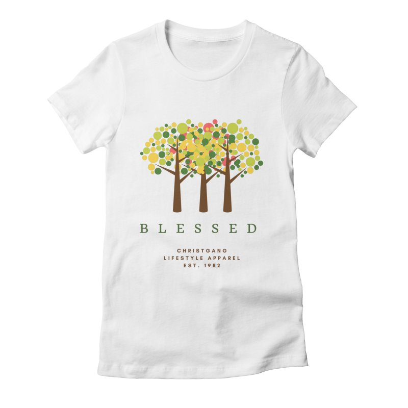 Blessed Women's T-Shirt by ChristGang Apparel
