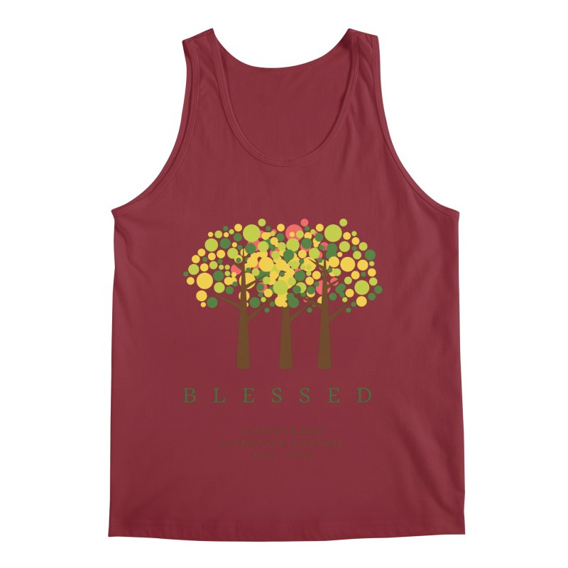 Blessed Men's Tank by ChristGang Apparel