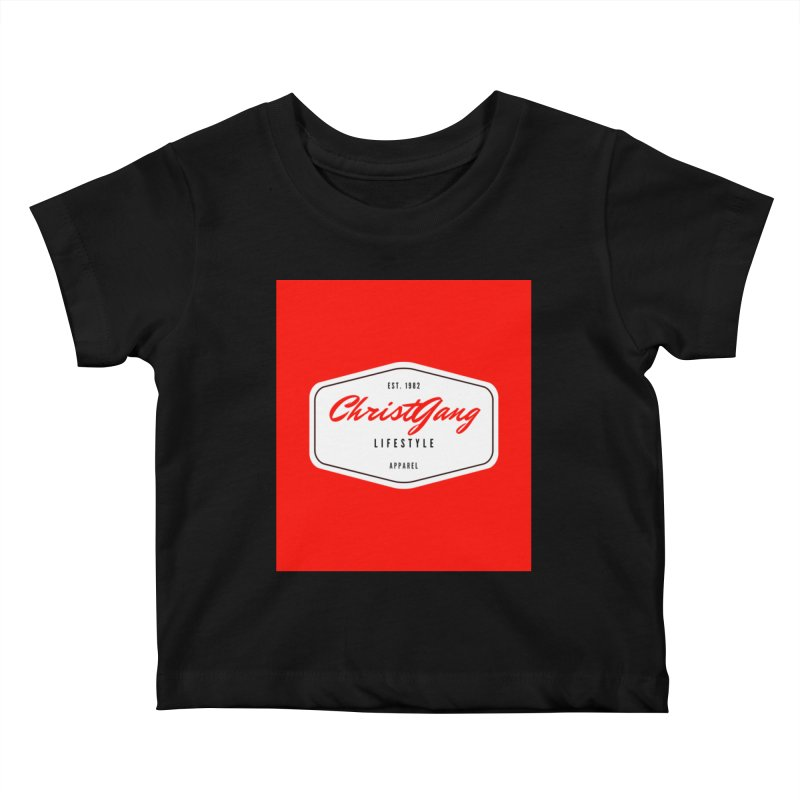 ChristGang Logo  Kids Baby T-Shirt by ChristGang Apparel