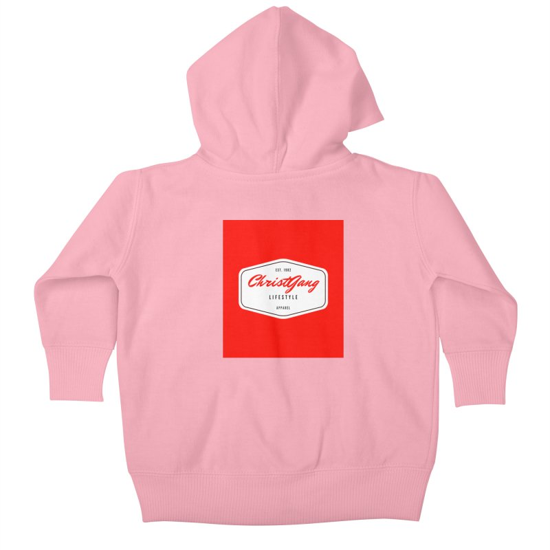ChristGang Logo  Kids Baby Zip-Up Hoody by ChristGang Apparel