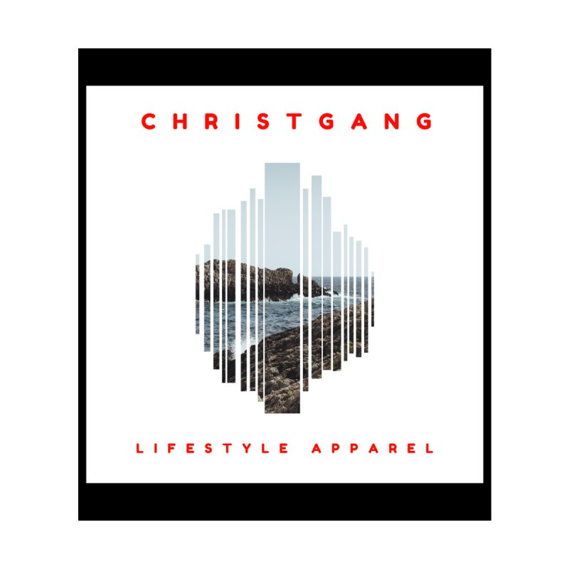ChristGang - Ocean Views Home Fine Art Print by ChristGang Apparel