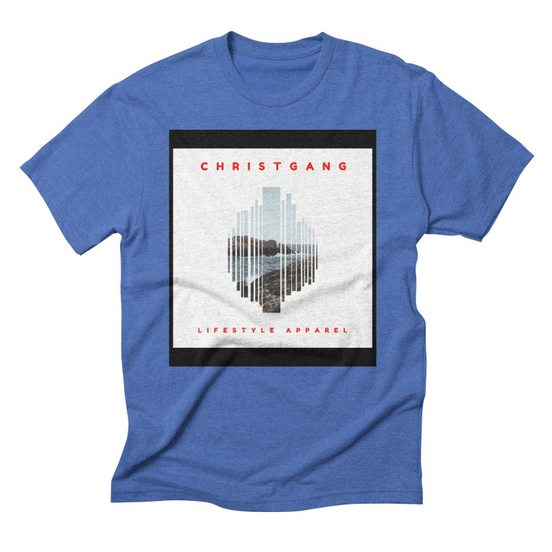 ChristGang - Ocean Views Men's T-Shirt by ChristGang Apparel