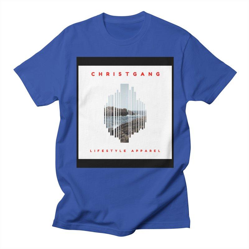 ChristGang - Ocean Views Men's T-Shirt by ChristGang Apparel