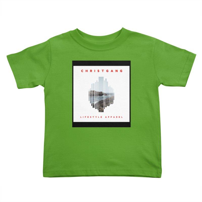 ChristGang - Ocean Views Kids Toddler T-Shirt by ChristGang Apparel