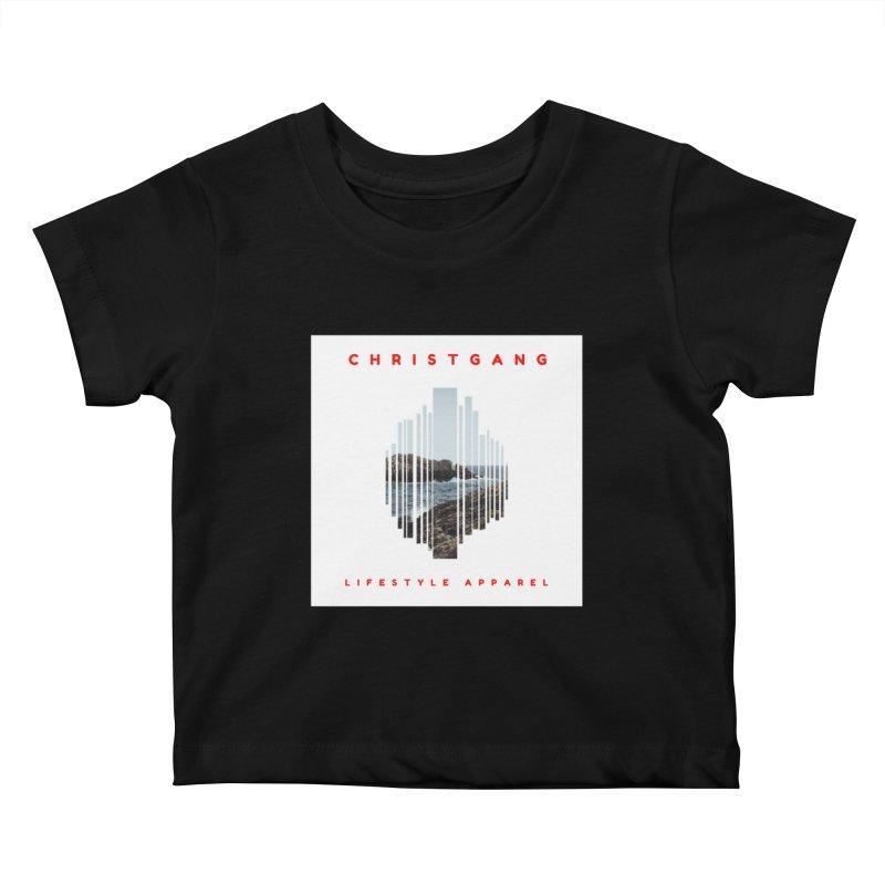 ChristGang - Ocean Views Kids Baby T-Shirt by ChristGang Apparel