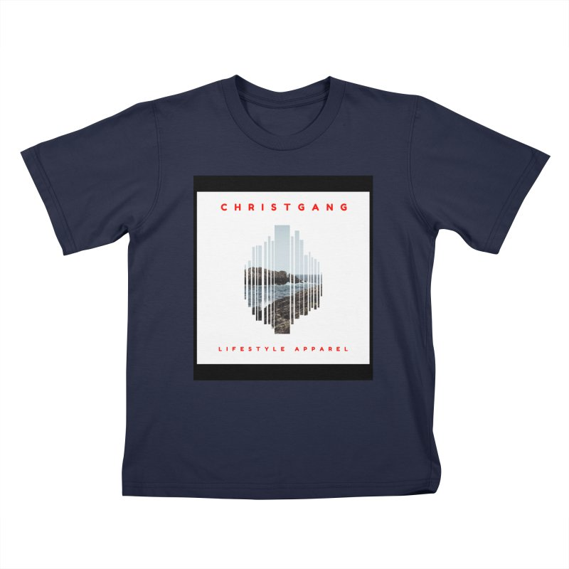 ChristGang - Ocean Views Kids T-Shirt by ChristGang Apparel
