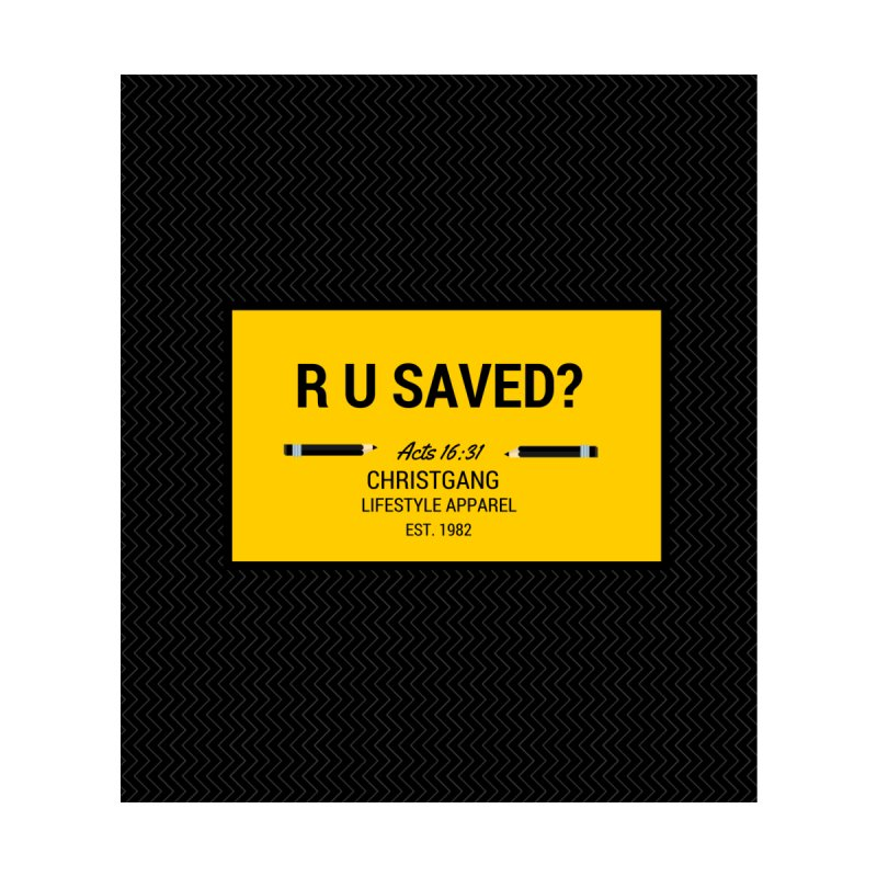 R U Saved? Kids Baby T-Shirt by ChristGang Apparel