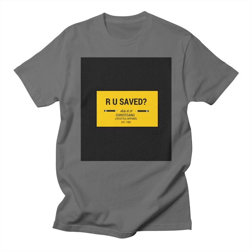 R U Saved? Women's T-Shirt by ChristGang Apparel