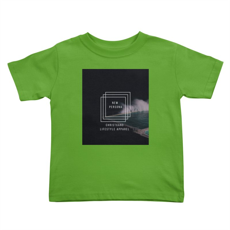 New Persona Kids Toddler T-Shirt by ChristGang Apparel