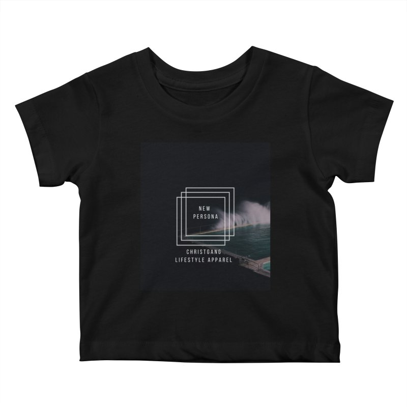 New Persona Kids Baby T-Shirt by ChristGang Apparel