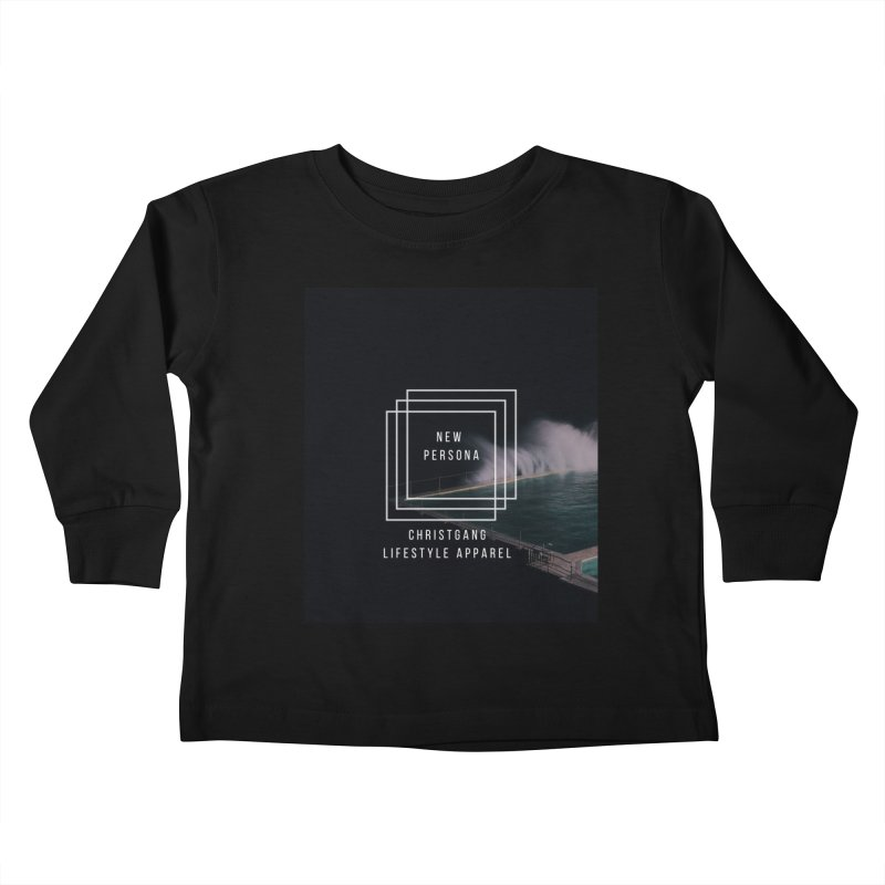 New Persona Kids Toddler Longsleeve T-Shirt by ChristGang Apparel