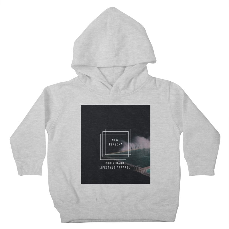 New Persona Kids Toddler Pullover Hoody by ChristGang Apparel