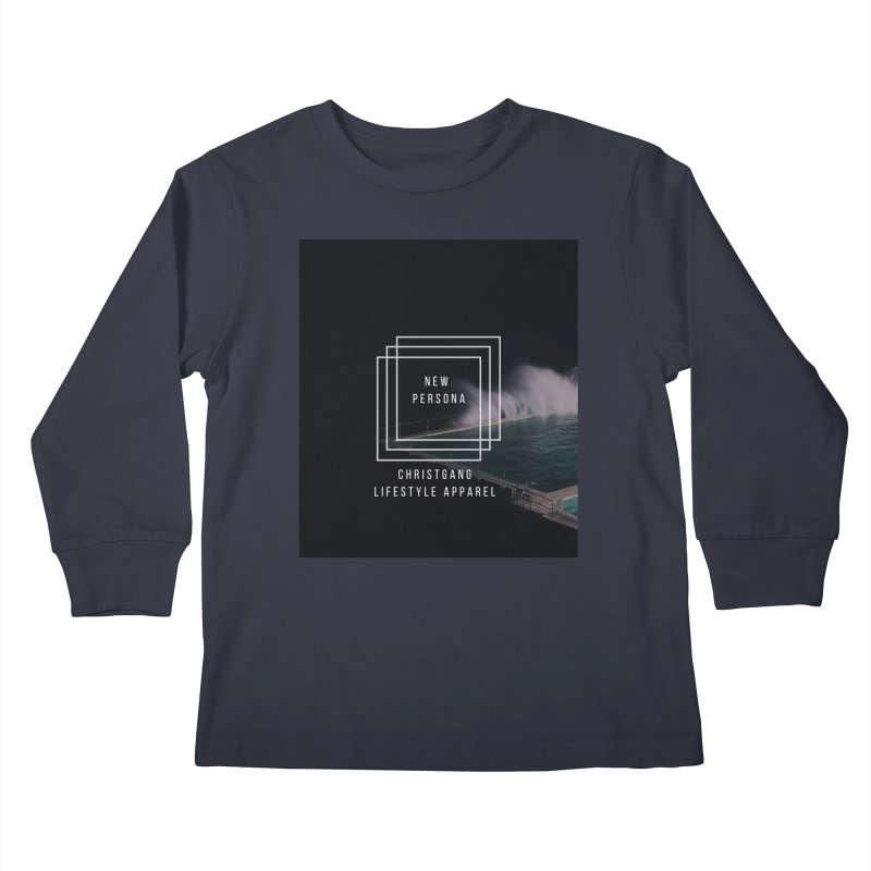 New Persona Kids Longsleeve T-Shirt by ChristGang Apparel