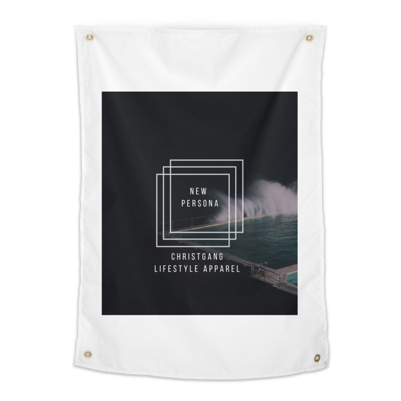 New Persona Home Tapestry by ChristGang Apparel