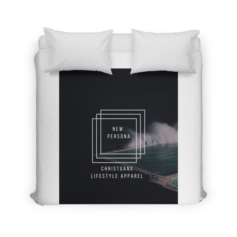 New Persona Home Duvet by ChristGang Apparel